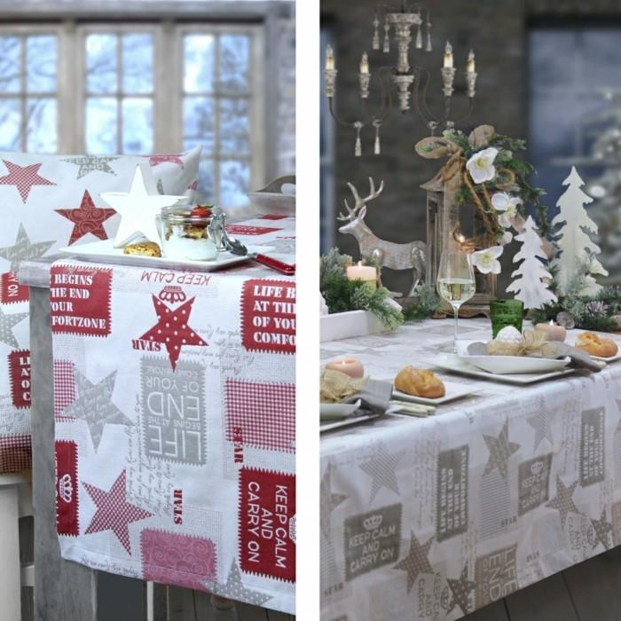 Tischdecke-Deko-Weihnachtstischdecke-CARRY ON-von-sander