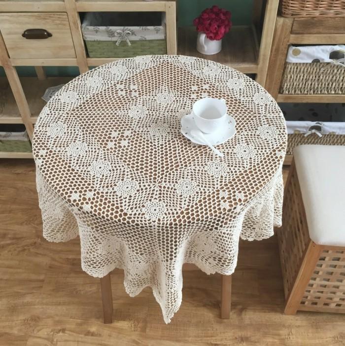 Tischdecke-häkeln-Anleitung-schlicht-und-schön