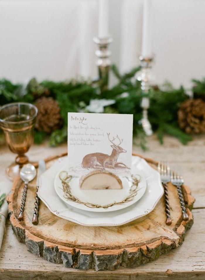 Tischdeko mit holz gem tliche atmosph re zum feiern for Tischdeko hochzeit holz