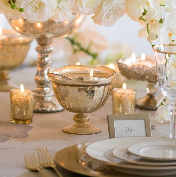 Tischdeko-Ideen-Kerzenständer-aus-Gold