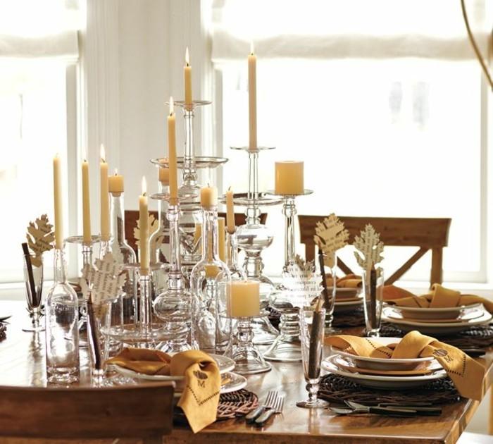 Tischdeko Mit Kerzen Klischee Oder Klasik
