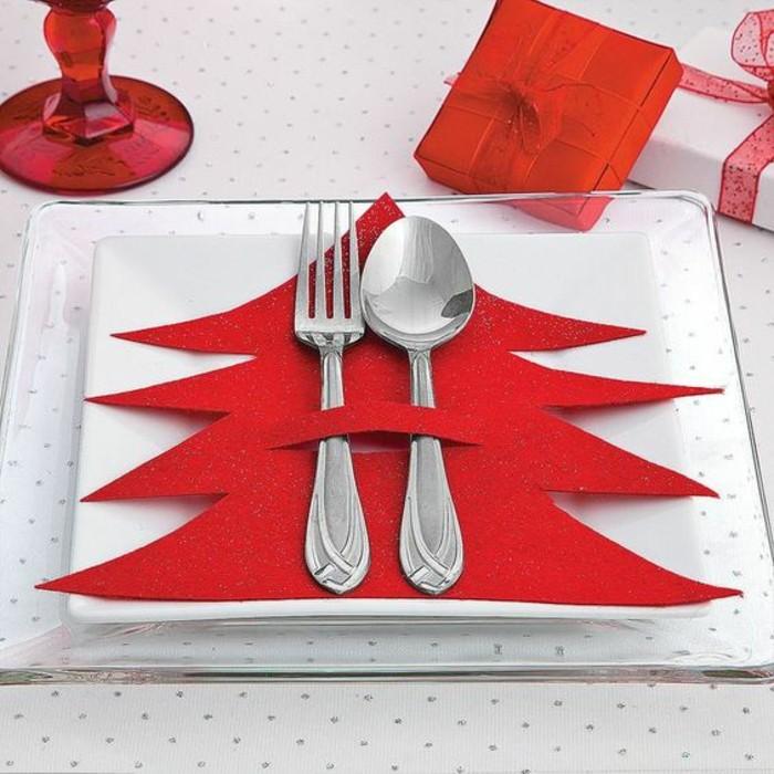 Tischdekoration Selber Machen Serviette Zum Weihnachten