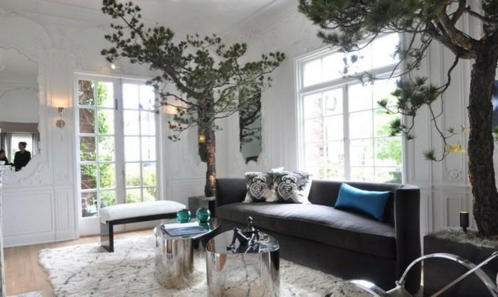 Vasen-dekorieren-ein-stilvolles-Zimmer