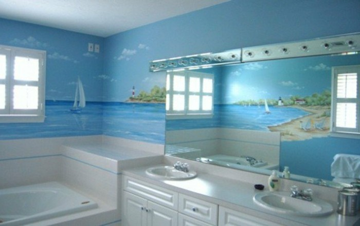 wandtattoo badezimmer f r gem tliches ambiente. Black Bedroom Furniture Sets. Home Design Ideas