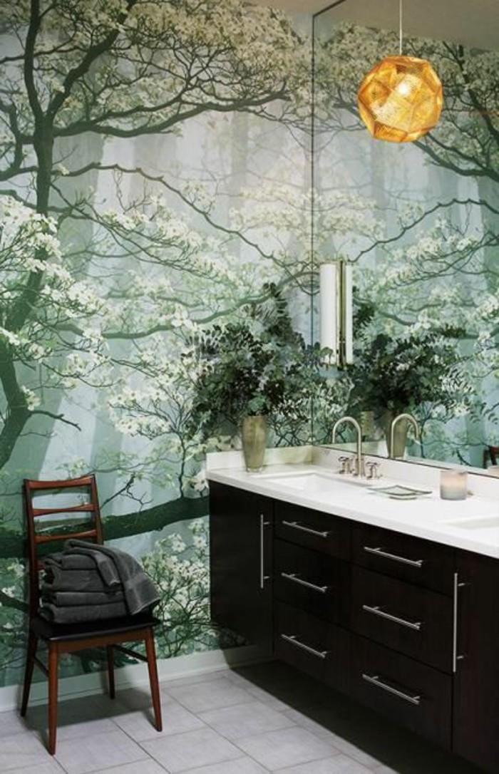 Wandtattoo Badezimmer Wie Im Wald