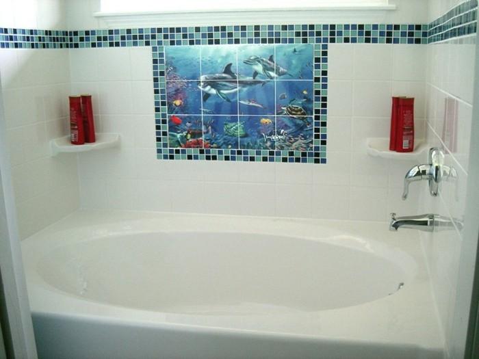 Wandtattoo-Fische-über-die-Badewanne