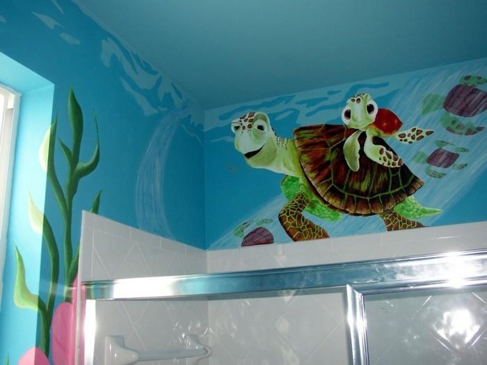 Wandtattoo-Fische-aus-Findet-Nemo-die-Wasserschildkröten