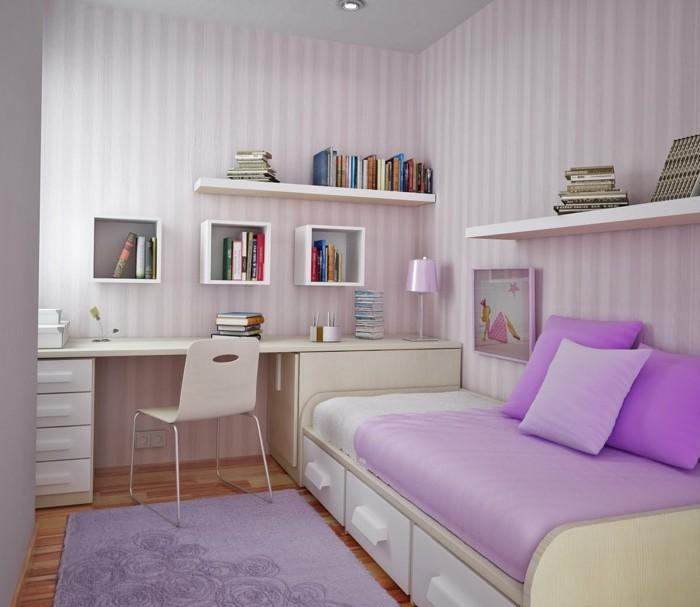 Wohnideen-für-kleine-Räume-für-ein-Mädchen