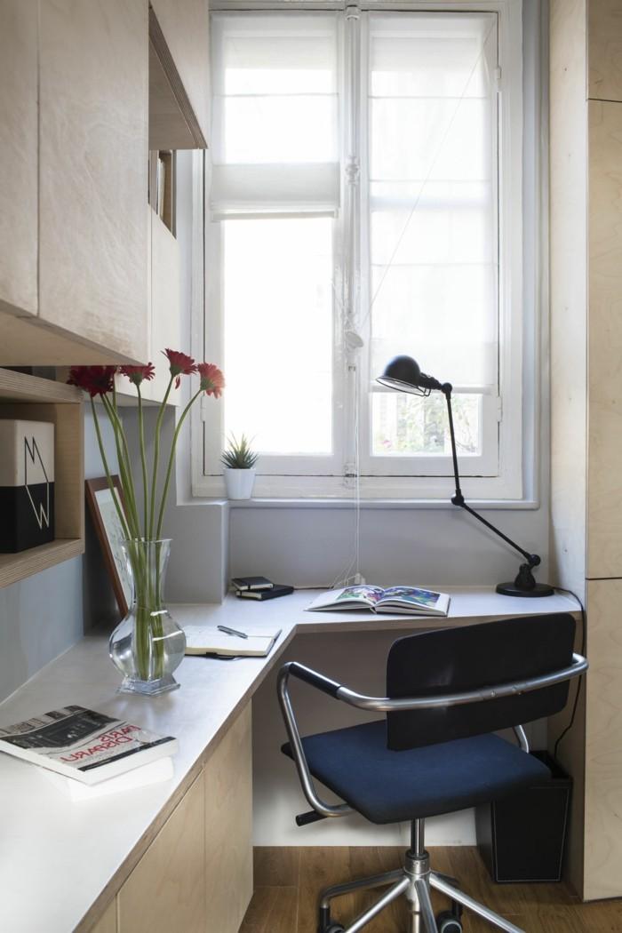 Wohnideen-für-kleine-Räume-kleiner-Stuhl