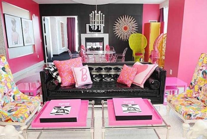 wohnzimmer deko : wohnzimmer deko pink ~ inspirierende bilder von ... - Rosa Wohnzimmer Deko