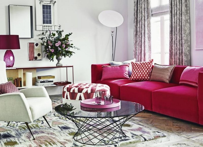Schon ... Wohnzimmer Ideen Mit Rosa 75 Verbl 252 Ffende Wohnzimmer Ideen. «