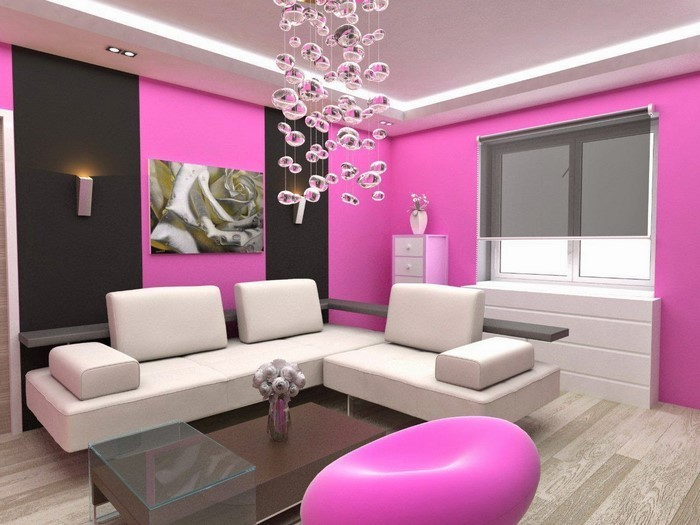 Wohnzimmer Ideen Mit Rosa 75 Verbluffende Wohnzimmer Ideen. Wohnzimmer Grau  Chrom Wohnzimmer