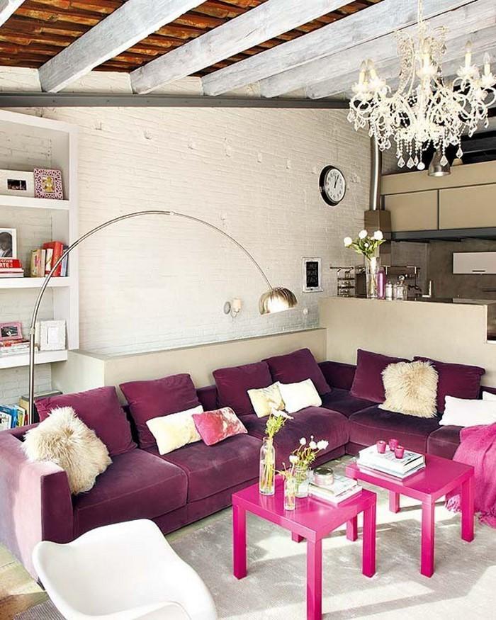 Wohnzimmer-Ideen-mit-Rosa-Ein-super-Interieur