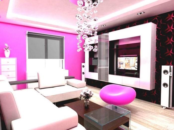 Wohnzimmer-Ideen-mit-Rosa-Eine-außergewöhnliche-Ausstrahlung