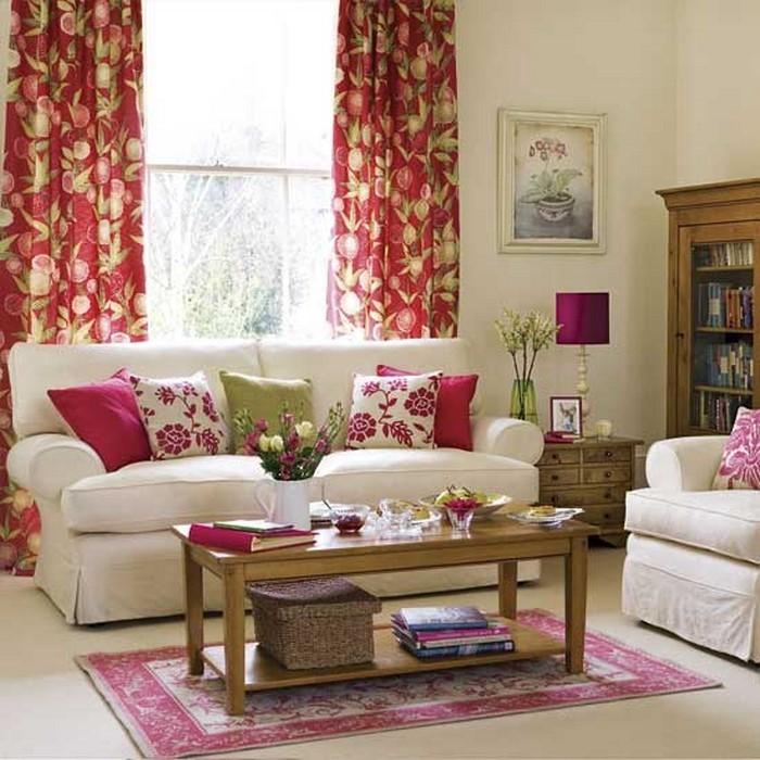 wohnzimmer mit rosa amped for