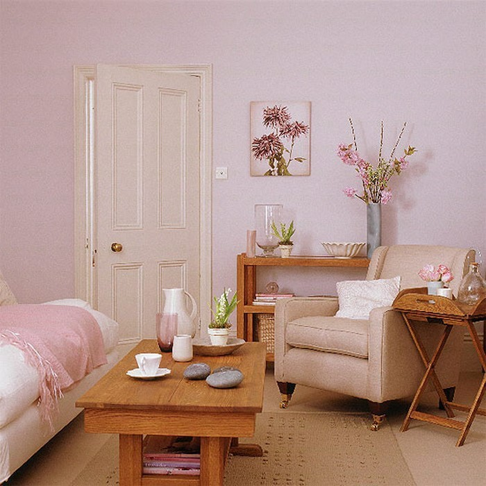 Wohnzimmer-Ideen-mit-Rosa-Eine-kreative-Atmosphäre