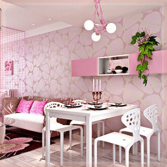 Wohnzimmer-Ideen-mit-Rosa-Eine-kreative-Entscheidung