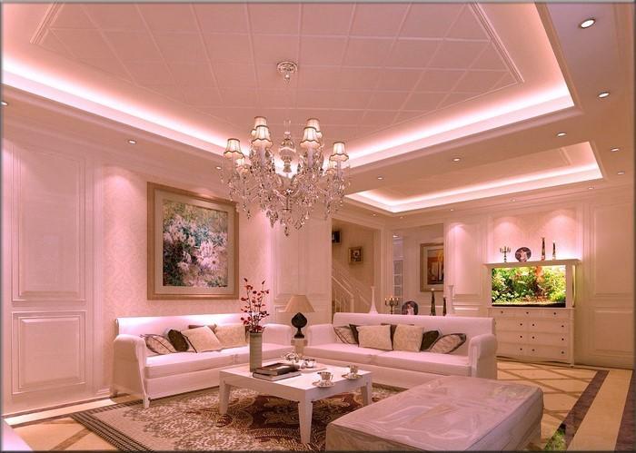 Wohnzimmer-Ideen-mit-Rosa-Eine-moderne-Ausstattung