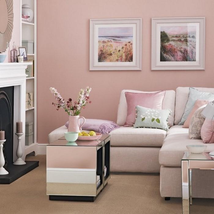 wohnzimmer ideen rosa ~ ideen für die innenarchitektur ihres hauses - Wohnzimmer Ideen Rosa
