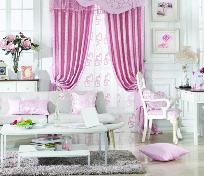 Wohnzimmer Ideen Mit Rosa: 75 Verblüffende Wohnzimmer Ideen ...