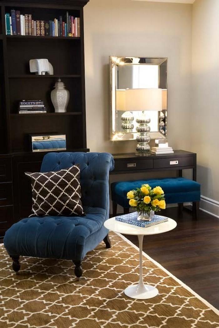 Wohnzimmer-farblich-gestalten-blau-Ein-außergewöhnliches-Design