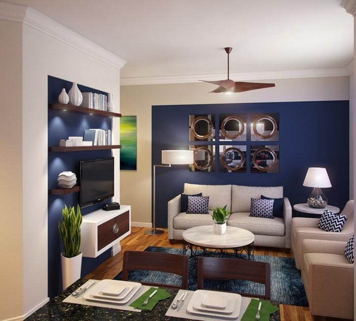 Wohnzimmer farblich gestalten grun - Wohnzimmer mit grun ...