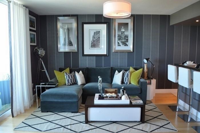 Wohnzimmer-farblich-gestalten-blau-Eine-außergewöhnliche-Ausstattung
