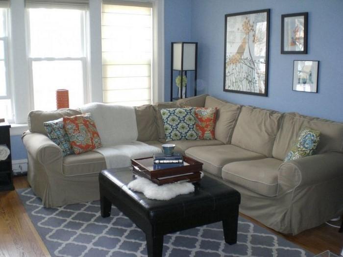 Wohnzimmer-farblich-gestalten-blau-Eine-außergewöhnliche-Deko
