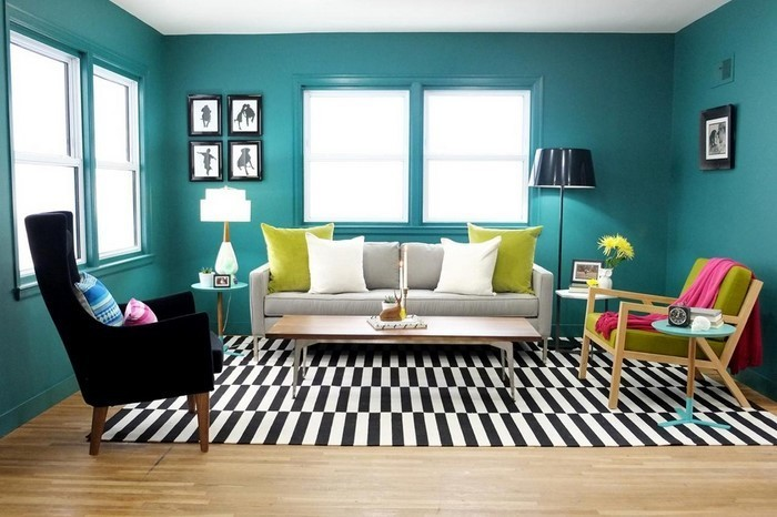 wohnzimmer farblich gestalten ? tiedweb.info - Wohnzimmer Farblich Gestalten In Rot