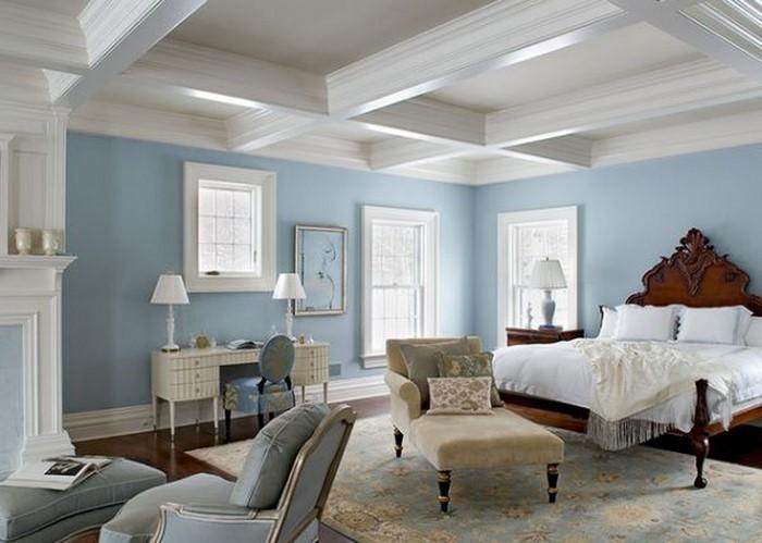 Wohnzimmer-farblich-gestalten-blau-Eine-auffällige-Ausstattung