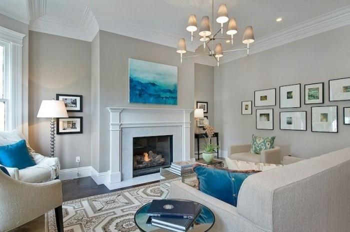 Wohnzimmer-farblich-gestalten-blau-Eine-kreative-Gestaltung