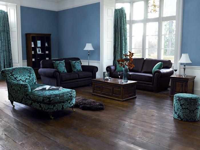 Wohnzimmer-farblich-gestalten-blau-Eine-moderne-Ausstattung