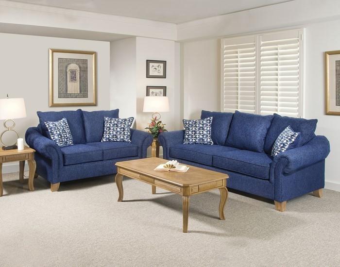 Wohnzimmer-farblich-gestalten-blau-Eine-moderne-Deko
