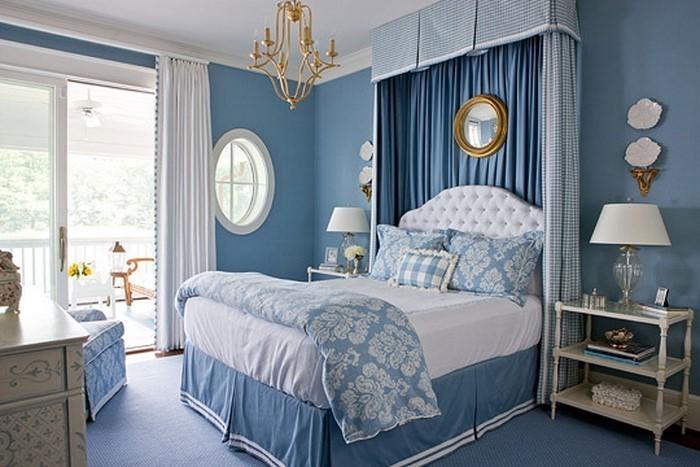 Wohnzimmer-farblich-gestalten-blau-Eine-moderne-Dekoration