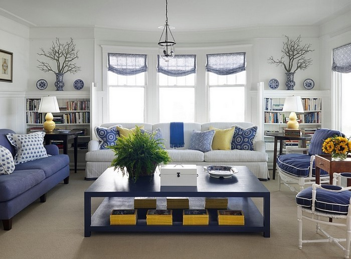 Wohnzimmer-farblich-gestalten-blau-Eine-moderne-Entscheidung