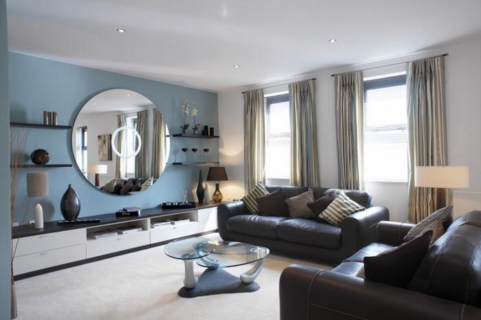 Wohnzimmer Farblich Gestalten Abomaheber Modern Dekoo