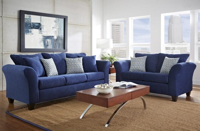 Wohnzimmer-farblich-gestalten-blau-Eine-tolle-Deko