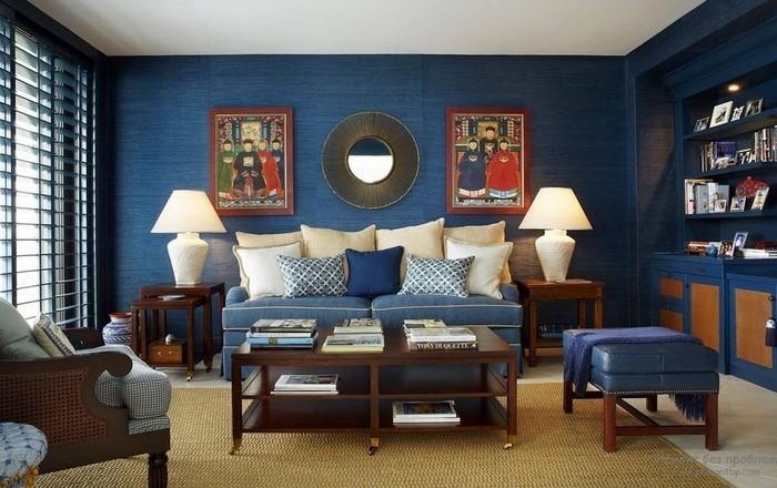Wohnzimmer-farblich-gestalten-blau-Eine-wunderschöne-Atmosphäre