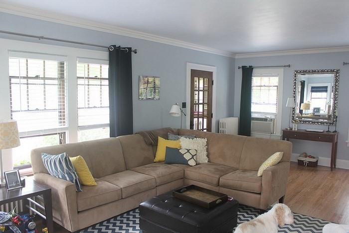 Wohnzimmer-farblich-gestalten-blau-Eine-wunderschöne-Deko