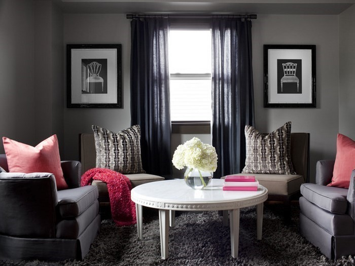 wohnzimmer grau einrichten und dekorieren, Modern Dekoo