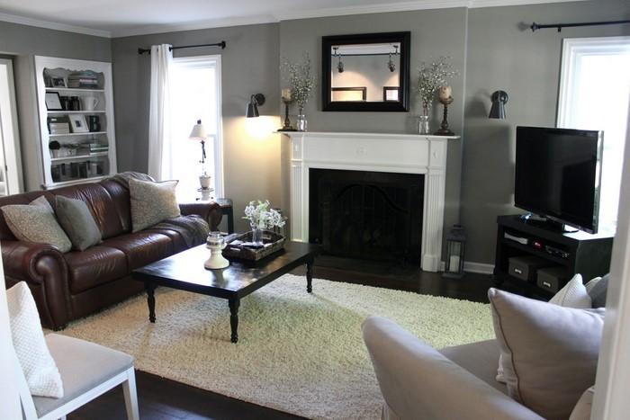 wohnzimmer grau ein kreatives interieur - Wohnzimmer Grau