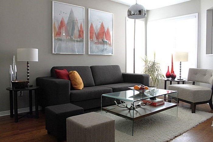 einrichtungsideen wohnzimmer grau einrichten schwarz ideen ... - Farbideen Wohnzimmer Grau