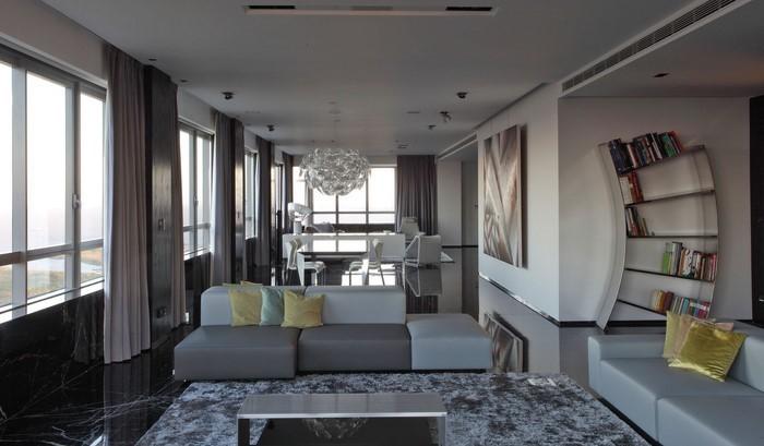 Wohnzimmer-grau-Ein-tolles-Interieur