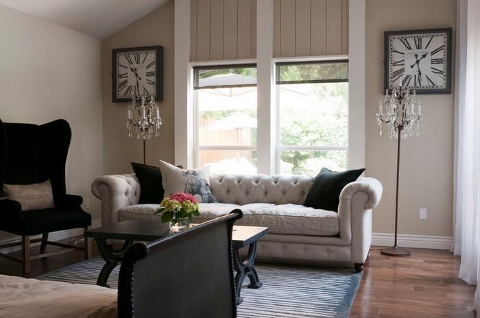 wohnzimmer grau einrichten und dekorieren - Wohnzimmer Design Grau