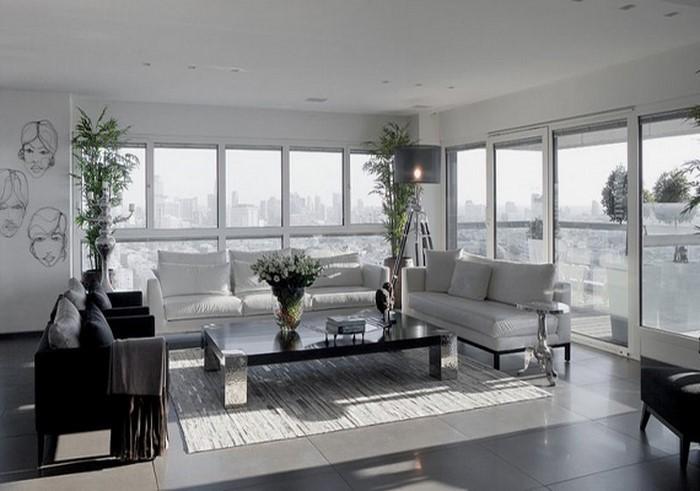 Wohnzimmer-grau-Eine-außergewöhnliche-Entscheidung
