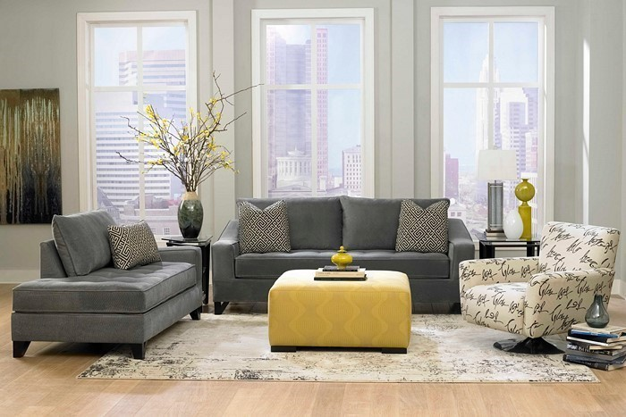 Wohnzimmer-grau-Eine-coole-Ausstattung