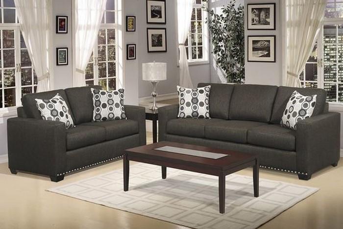 deko wohnzimmer grau:Wohnzimmer graue Wandfarbe:Ein wunderschönes Design