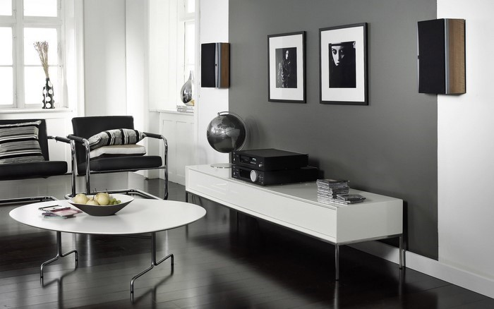 Farbideen wohnzimmer grau ~ Ideen für die Innenarchitektur Ihres ...