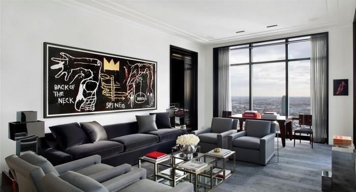 Wohnzimmer-grau-Eine-super-Ausstrahlung