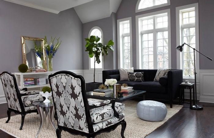 wohnzimmer grau einrichten und dekorieren - Wohnzimmer Deko Auf Rechnung